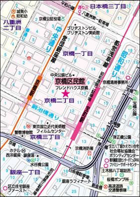京橋区民会館 - TEG英会話サーク...